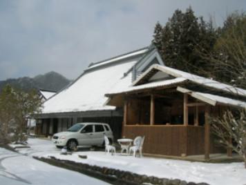 佐用の里 冬の雪景色
